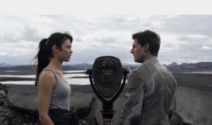 Jack Tom Cruise i Julia Olga Kurylenko Niepamięć Oblivion - Universal 2013