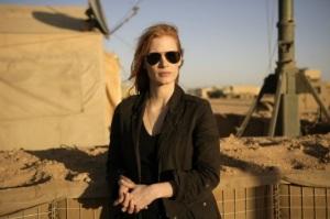 Agentka CIA Maya Jessica Chastain Postawiła sobie za cel zabicie Bin Ladena Wróg Numer Jeden - Columbia Pictures 2012