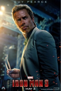 Gur Pearce Iron Man 3 - Walt Disney Marvel 2013