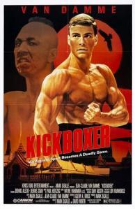 Jean Claude Van Damme lata swojej świetności ma już za sobą. Kickboxer - Cannon Film 1989