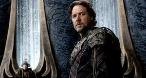 Jor-El Russell Crowe Prawdziwy, pozaziemski, ojciec Supermana Men of Steel - Warner Brothers 2013