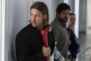 Brad Pitt - World War Z - Paramount Pictures 2013