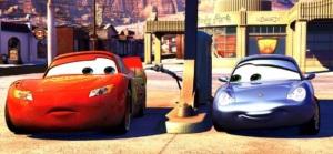 Zygzak McQueen zakochuje się w Sally Carrera i zaczyna ścigać się w imię zasad.     Auta - Cars - Disney 2006