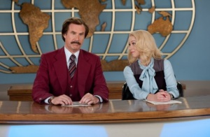 Christina Applegate Will Ferrell Anchorman 2, The Legend Continues, Legenda Powraca Paramount Pictures 2013