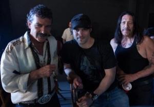 Maczeta Zabija Antonio Banderas, Robert Rodriguez, Danny Trejo Troublemakers Studios 2013