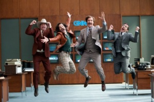 Will Ferrell, Steve Carell, David Koechner,Paul Rudd, Anchorman 2 Legenda Powraca Paramount 2013
