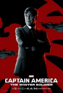 Alexander Pierce - Kapitan Ameryka - Zimowy Zolnierz - Marvel Studios 2014