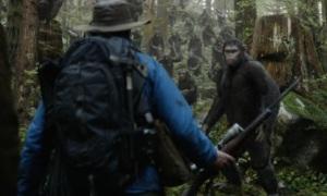 Jason Clark, Andy Serkis, Ewolucja Planety Malp 2014 - Twentieth Century Fox