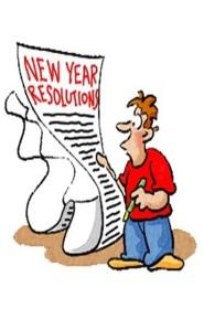 Postanowienia Nowy Rok