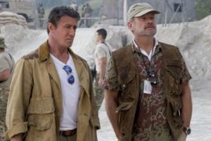 Sylvester Stallone i Kelsey Grammer- Niezniszczalni 3 - 2014 - Lionsgate