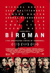 Birdman Or (The Unexpected Virtue of Ignorance) Plakat