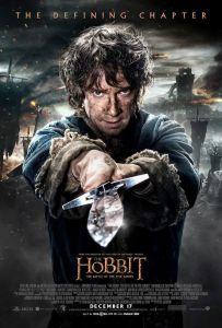 Hobbit Bitwa Pięciu Armii 2014 Plakat