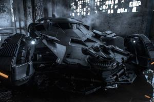 Batmobile Batman vs Superman Dawn of Justice 2016